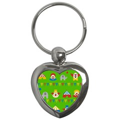 Circus Key Chains (Heart)