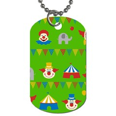 Circus Dog Tag (Two Sides)