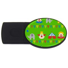 Circus USB Flash Drive Oval (2 GB)