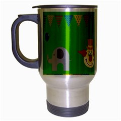 Circus Travel Mug (Silver Gray)