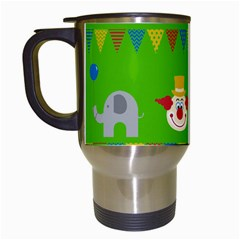 Circus Travel Mugs (White)