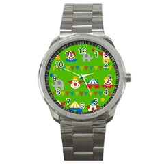 Circus Sport Metal Watch
