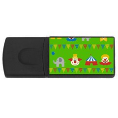 Circus USB Flash Drive Rectangular (4 GB)