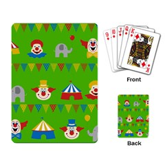 Circus Playing Card