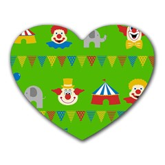 Circus Heart Mousepads