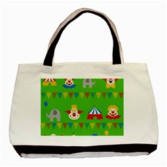 Circus Basic Tote Bag (Two Sides)