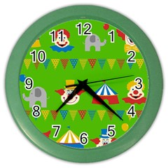Circus Color Wall Clocks