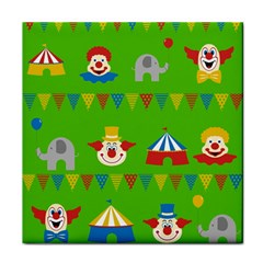 Circus Face Towel