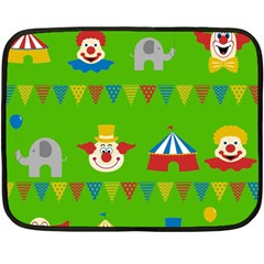 Circus Fleece Blanket (Mini)