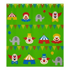 Circus Shower Curtain 66  x 72  (Large)