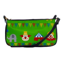 Circus Shoulder Clutch Bags
