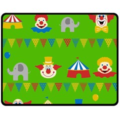 Circus Fleece Blanket (Medium)