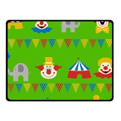 Circus Fleece Blanket (Small)