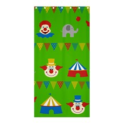Circus Shower Curtain 36  x 72  (Stall)
