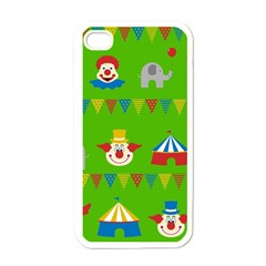 Circus Apple iPhone 4 Case (White)