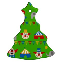 Circus Christmas Tree Ornament (Two Sides)