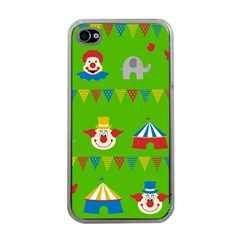Circus Apple iPhone 4 Case (Clear)