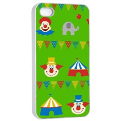 Circus Apple iPhone 4/4s Seamless Case (White)
