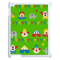 Circus Apple iPad 2 Case (White)