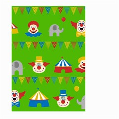 Circus Large Garden Flag (Two Sides)
