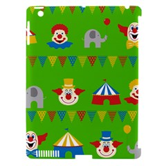 Circus Apple iPad 3/4 Hardshell Case (Compatible with Smart Cover)