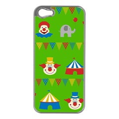 Circus Apple iPhone 5 Case (Silver)