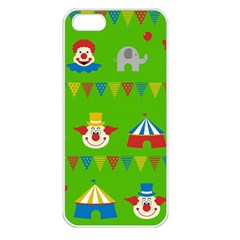 Circus Apple iPhone 5 Seamless Case (White)