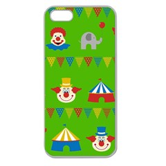 Circus Apple Seamless iPhone 5 Case (Clear)