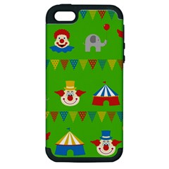 Circus Apple iPhone 5 Hardshell Case (PC+Silicone)