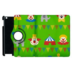 Circus Apple iPad 3/4 Flip 360 Case