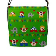 Circus Flap Messenger Bag (L)