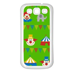 Circus Samsung Galaxy S3 Back Case (White)