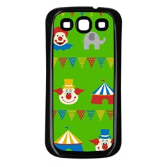 Circus Samsung Galaxy S3 Back Case (Black)