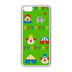 Circus Apple iPhone 5C Seamless Case (White)