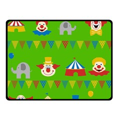 Circus Double Sided Fleece Blanket (Small)