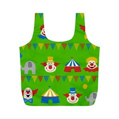 Circus Full Print Recycle Bags (M)