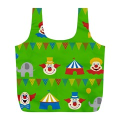 Circus Full Print Recycle Bags (L)