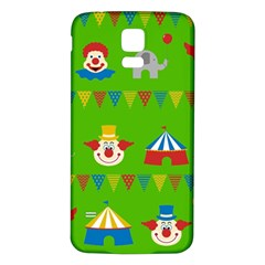 Circus Samsung Galaxy S5 Back Case (White)