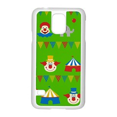 Circus Samsung Galaxy S5 Case (White)