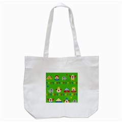 Circus Tote Bag (White)