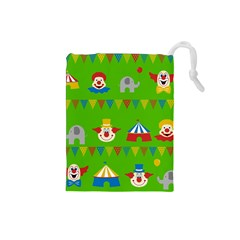 Circus Drawstring Pouches (Small)