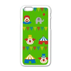 Circus Apple iPhone 6/6S White Enamel Case