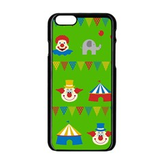 Circus Apple iPhone 6/6S Black Enamel Case