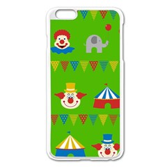 Circus Apple iPhone 6 Plus/6S Plus Enamel White Case
