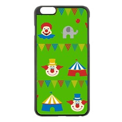 Circus Apple iPhone 6 Plus/6S Plus Black Enamel Case