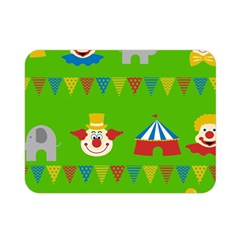 Circus Double Sided Flano Blanket (Mini)