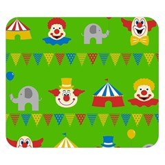 Circus Double Sided Flano Blanket (Small)
