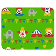 Circus Double Sided Flano Blanket (Medium)