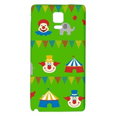 Circus Galaxy Note 4 Back Case