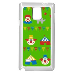 Circus Samsung Galaxy Note 4 Case (White)